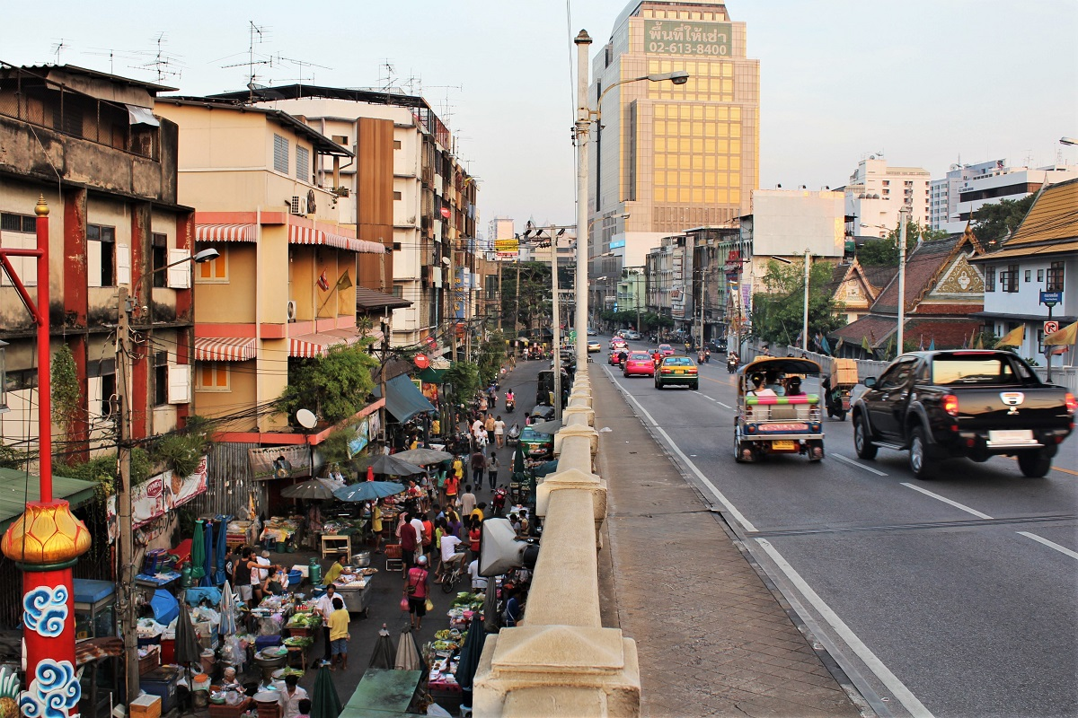 Bangkok Stadtrundgang