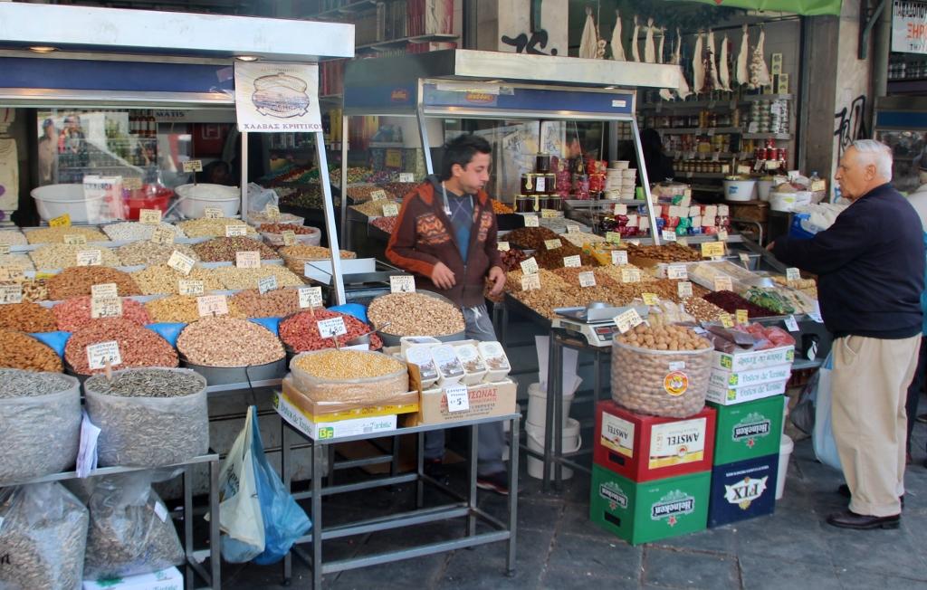 Markt Nüsse