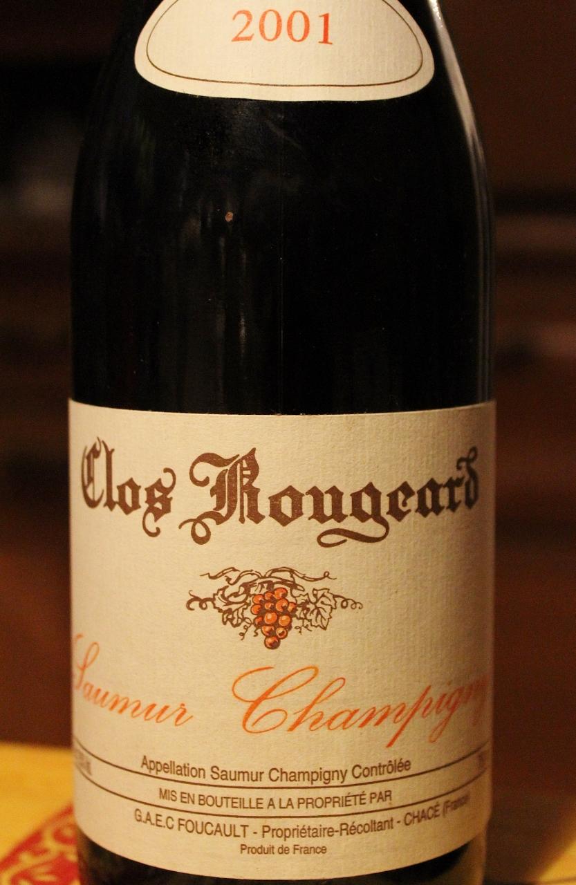 Clos Rougeard 2001
