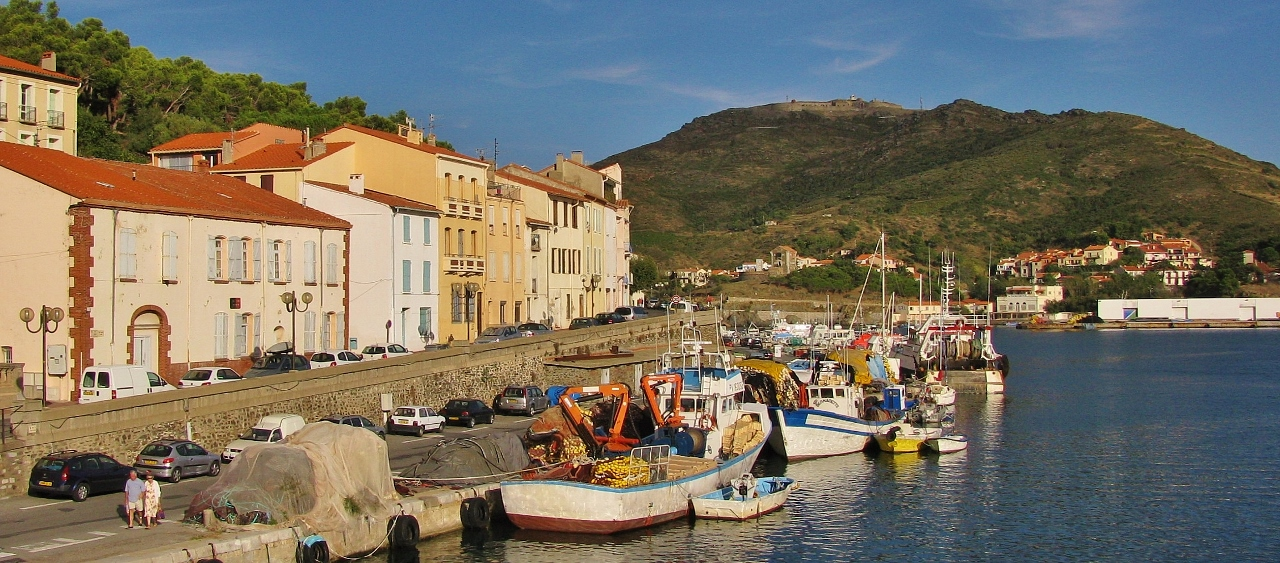 Titel Boote Port-Vendres