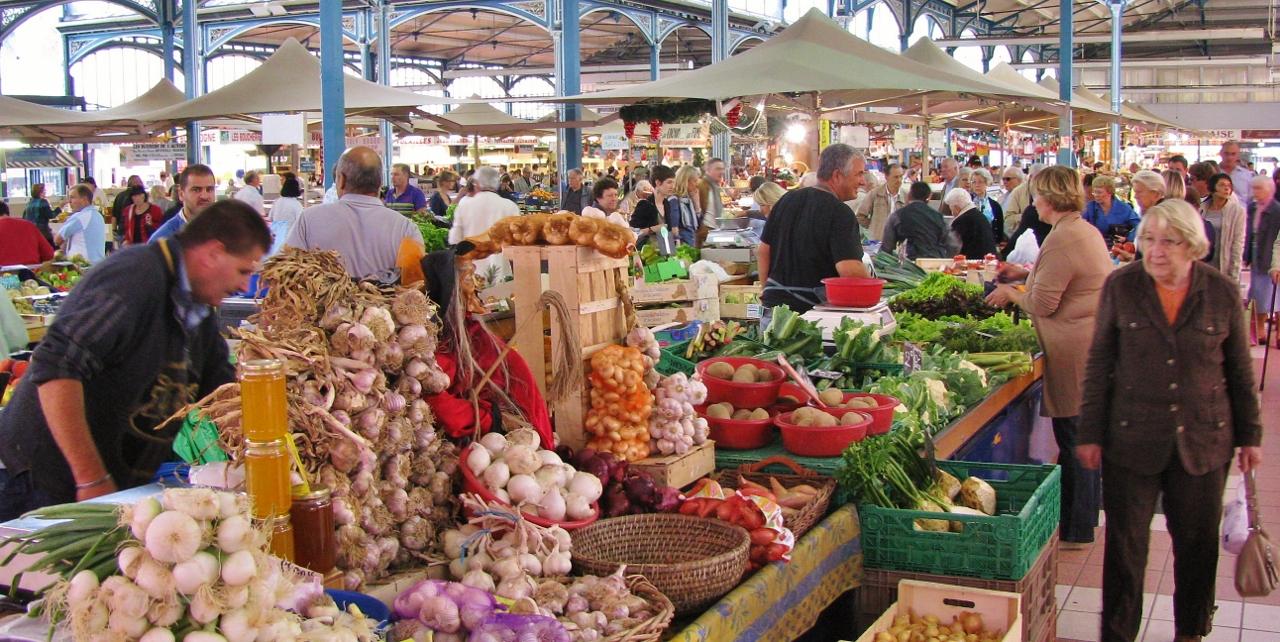Markthalle von Dijon