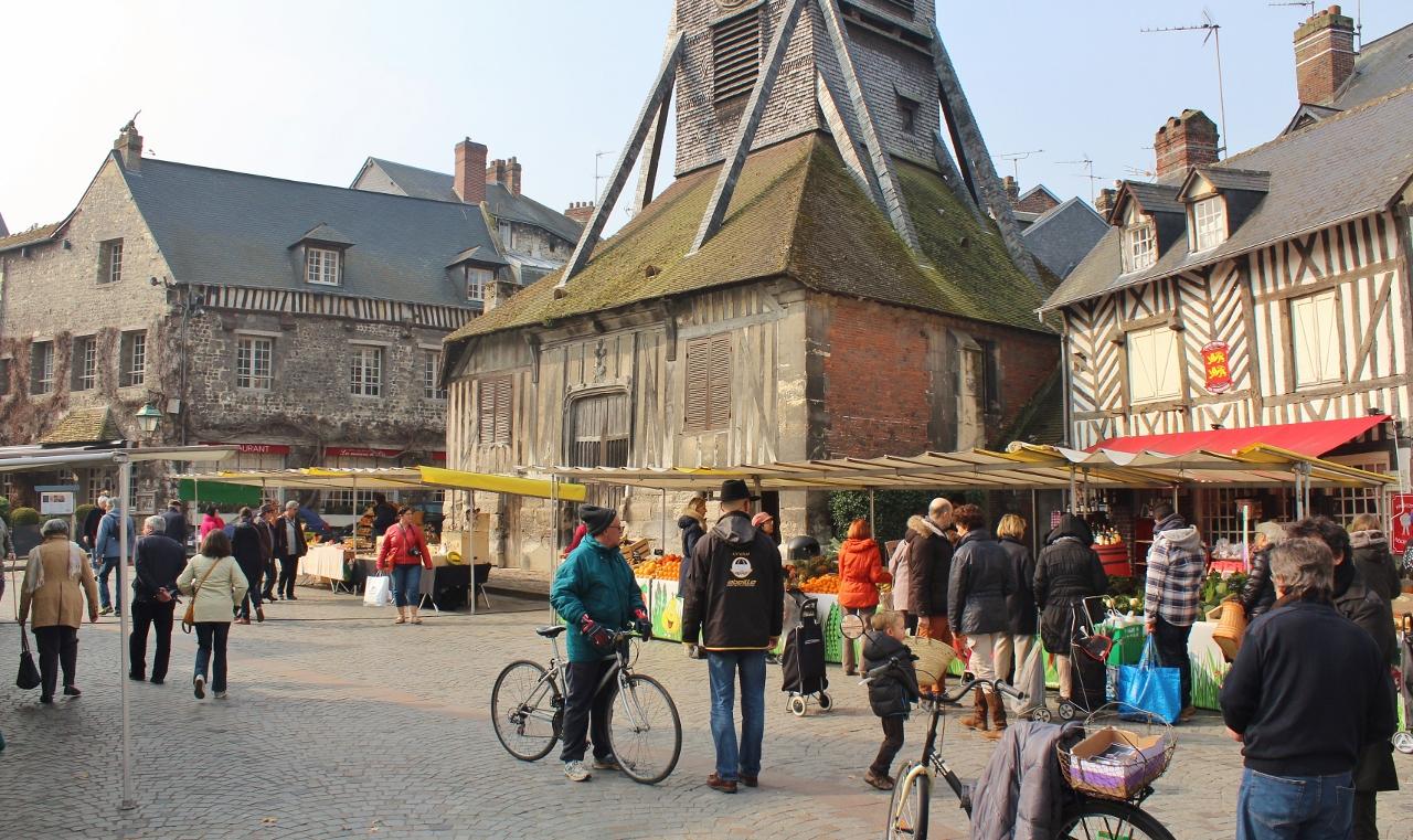 2 Honfleur Markt