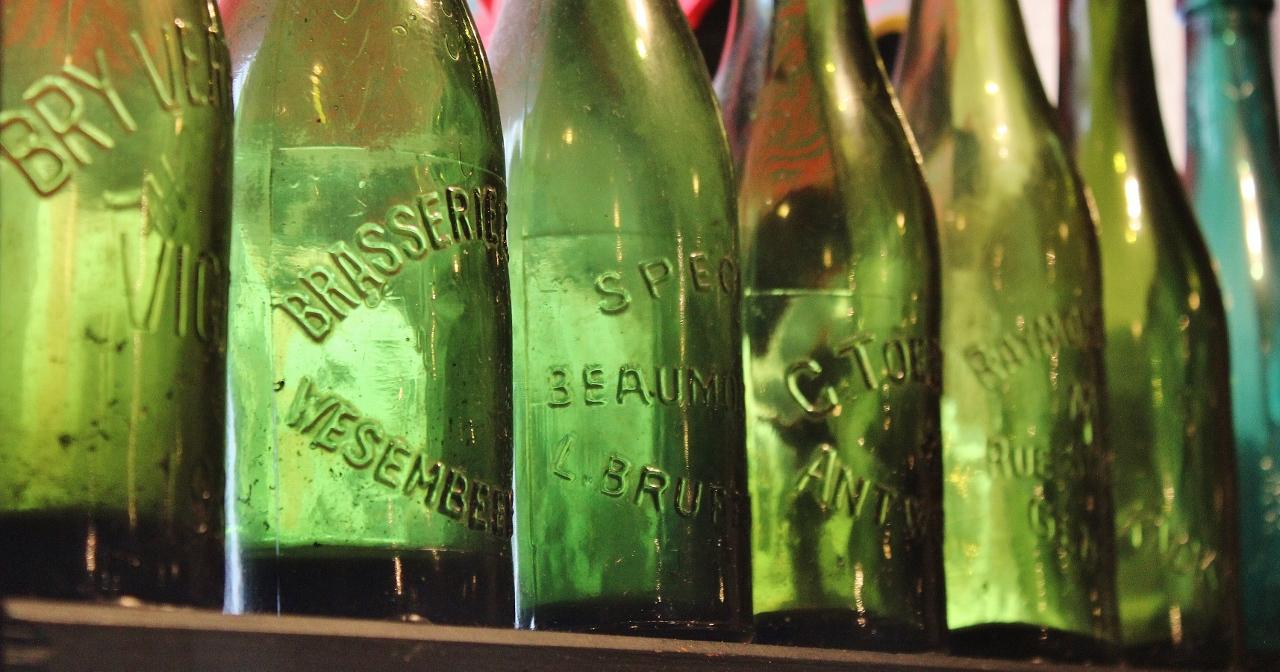 Restobières Flaschensammlung