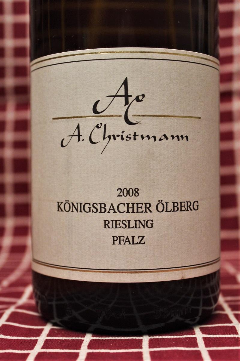 Christmann Riesling Königsbacher Ölberg 2008 Pfalz