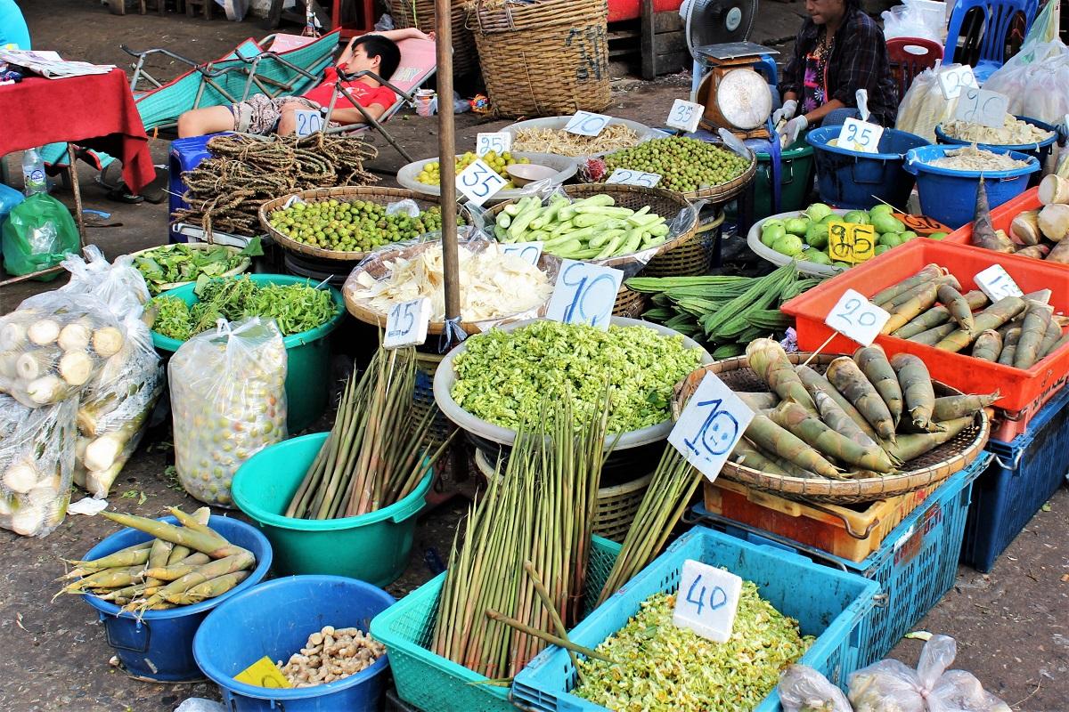 Khlong Toei Market Bangkok