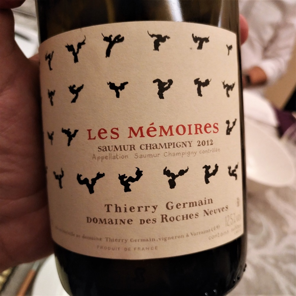 Loire Wein Thierry Germain Mémoires