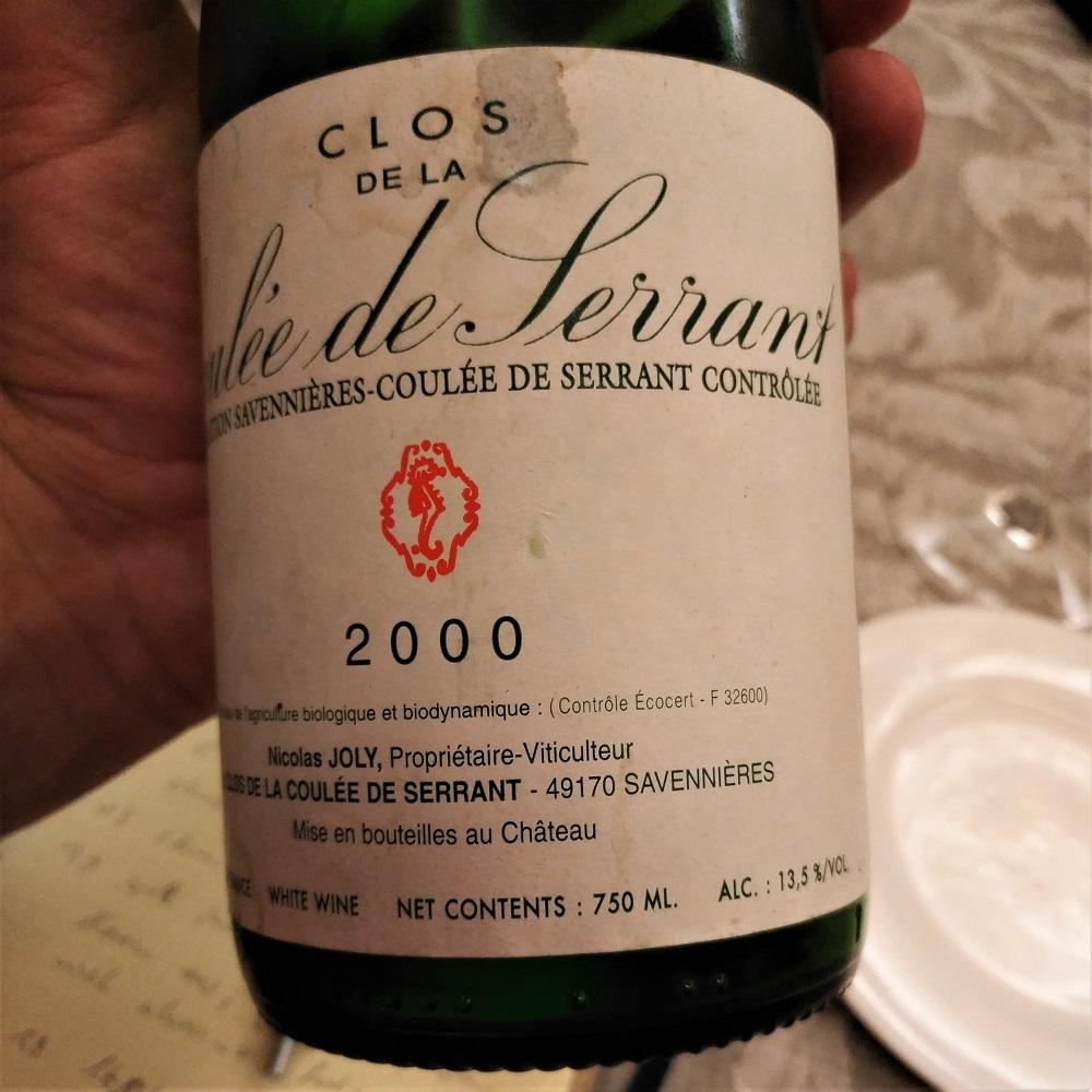 Loire Wein Nicolas Joly Coulée de Serrant