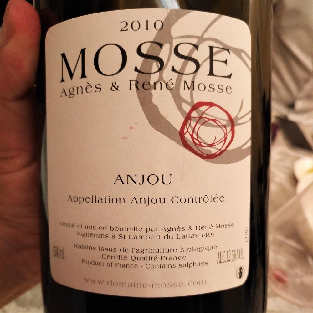 Loire Wein Mosse Anjou
