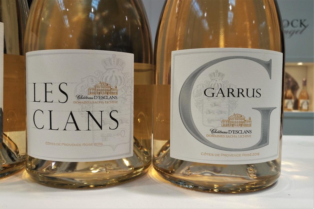 Rosé Garrus d'Esclans expensive