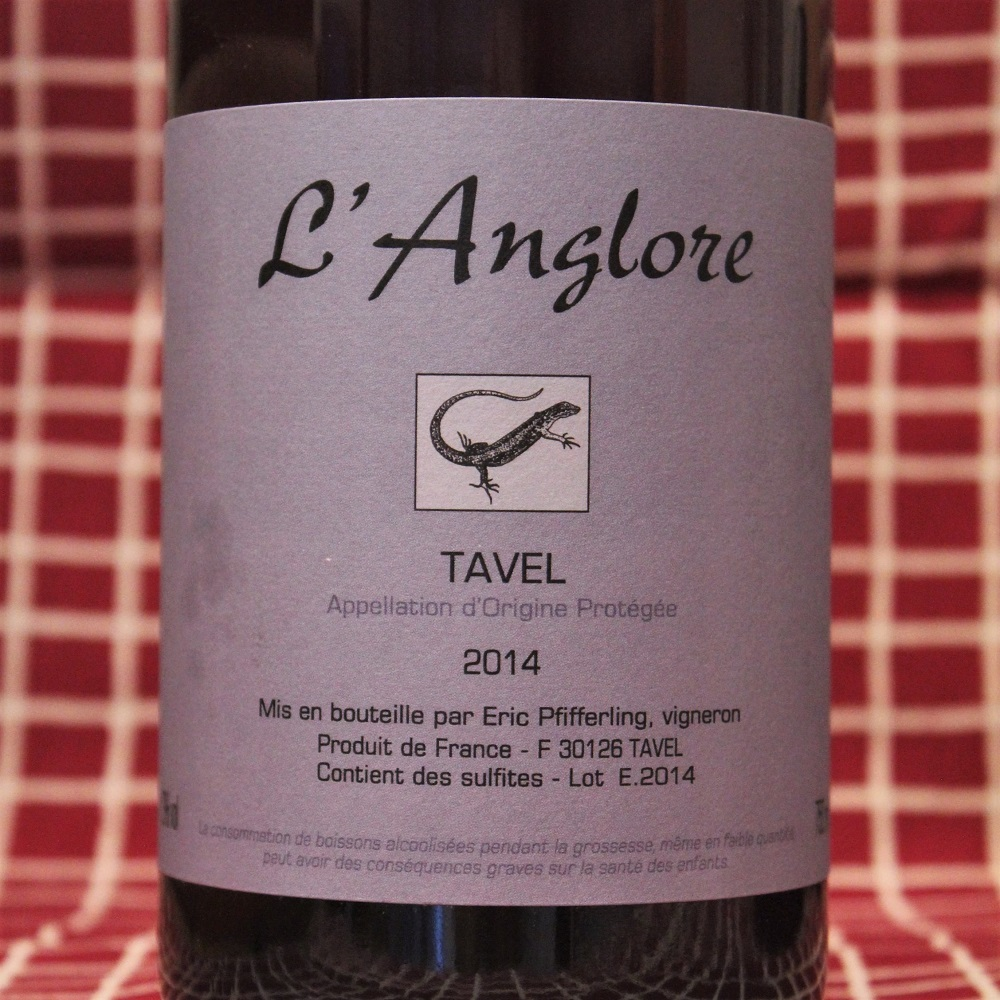 Rosé Tavel Pfifferling L'Anglore