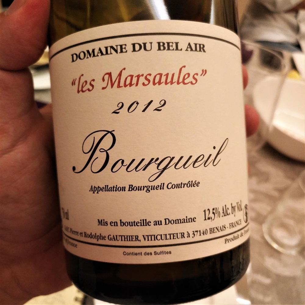 Loire Wein Bourgueil