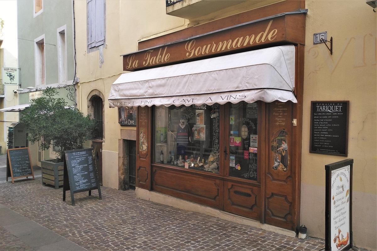 Aubenas Wein Spezialitäten La Table Gourmande