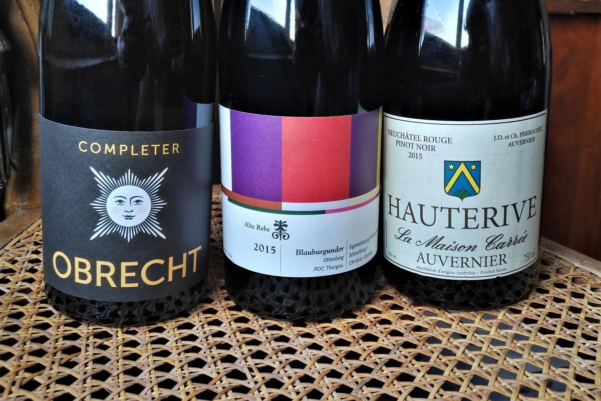 Schweiz Wein Pinot Noir Completer