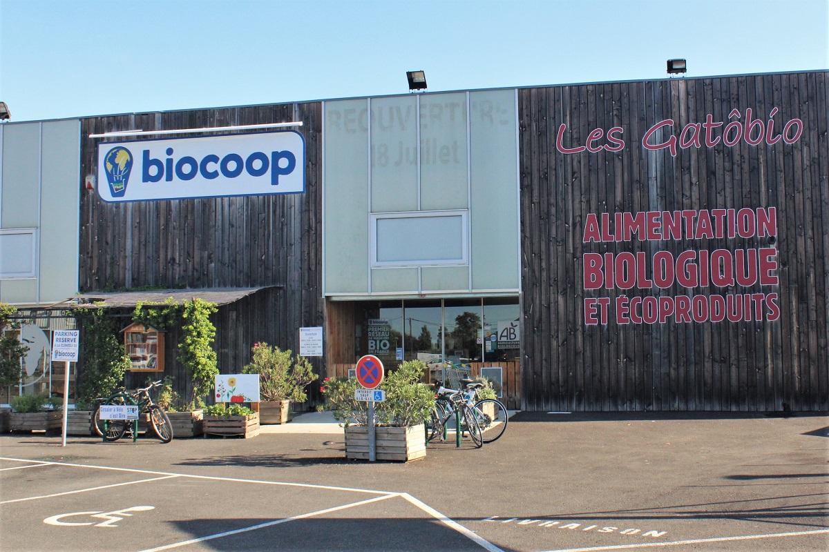 Bio-Supermarkt Frankreich Biocoop