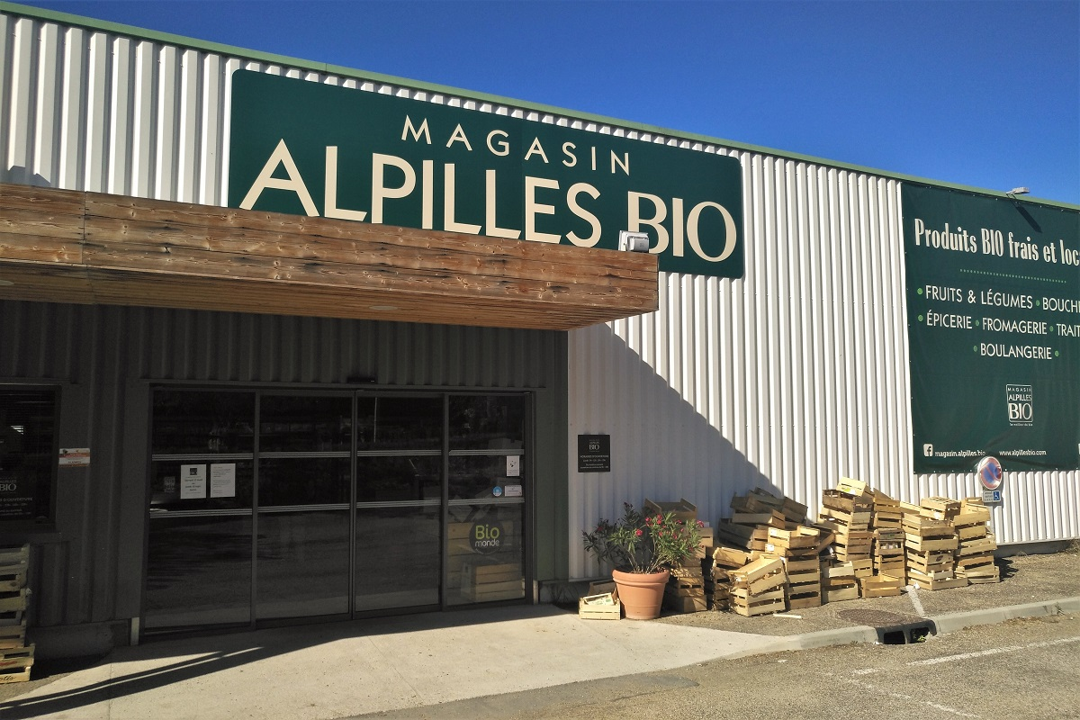 Bio-Supermarkt Frankreich Biomonde