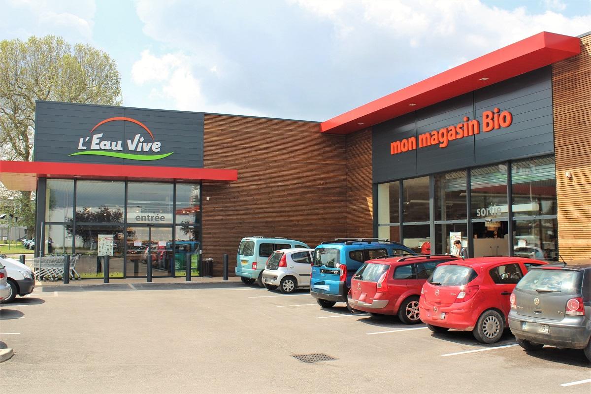 Bio-Supermarkt Frankreich L'Eau Vive