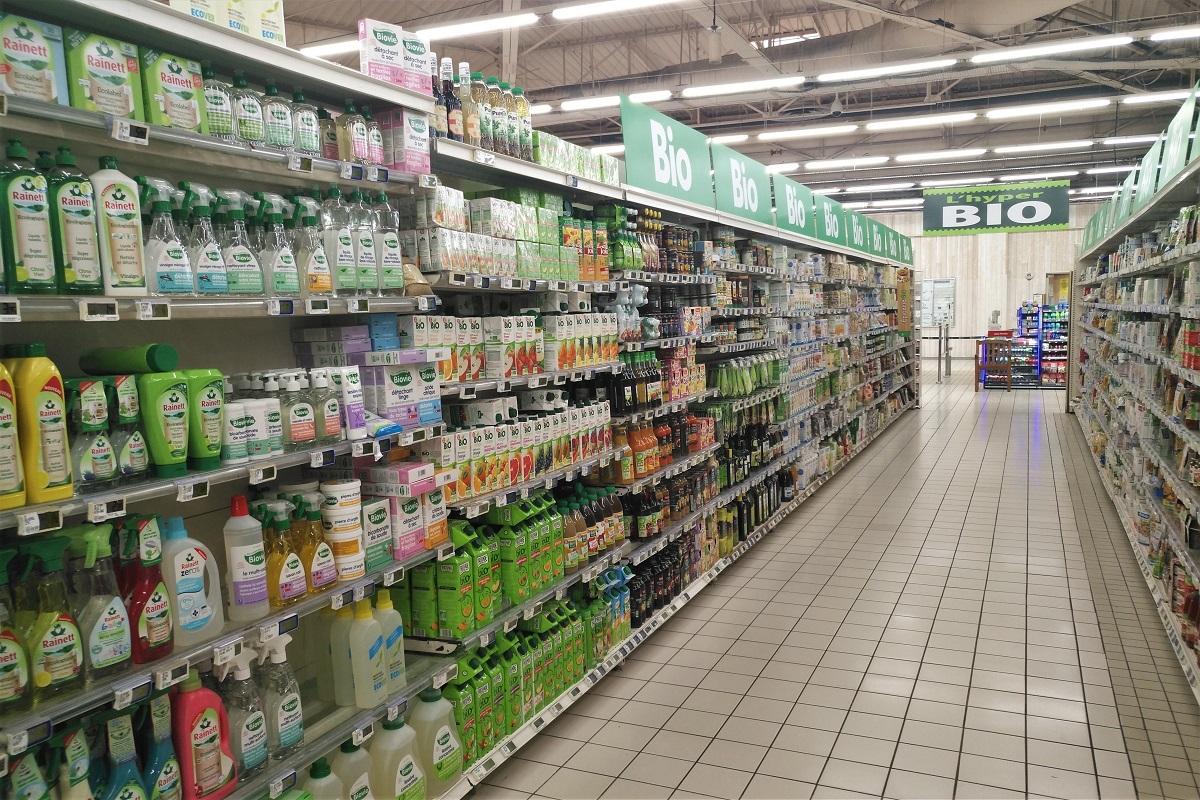 Bio-Supermarkt Frankreich Hypermarché