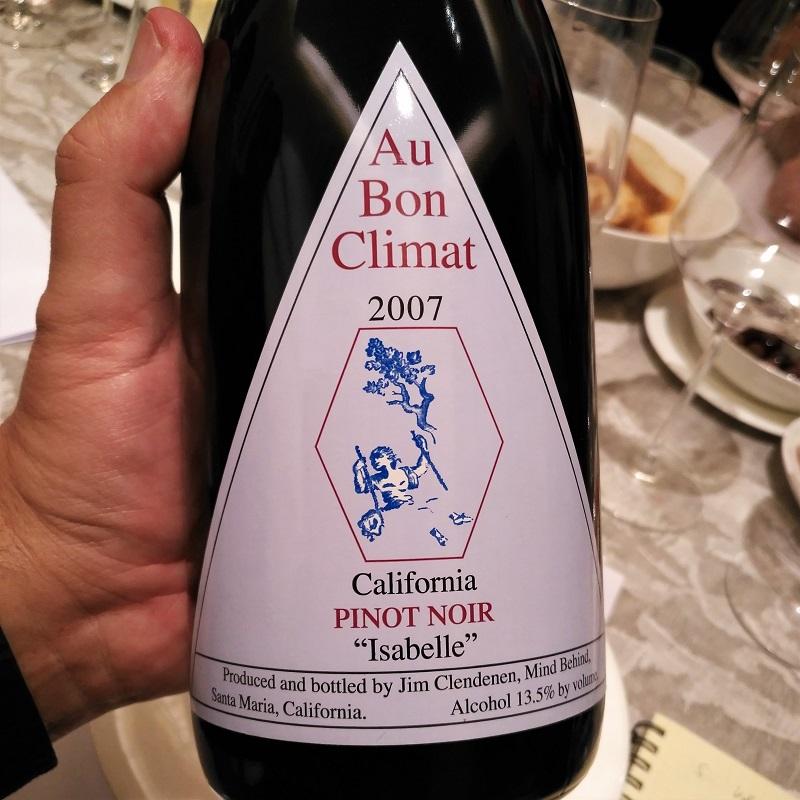 Judgment of Bonn Pinot Noir Au Bon Climat