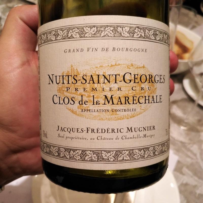 Judgment of Bonn Pinot Noir Mugnier