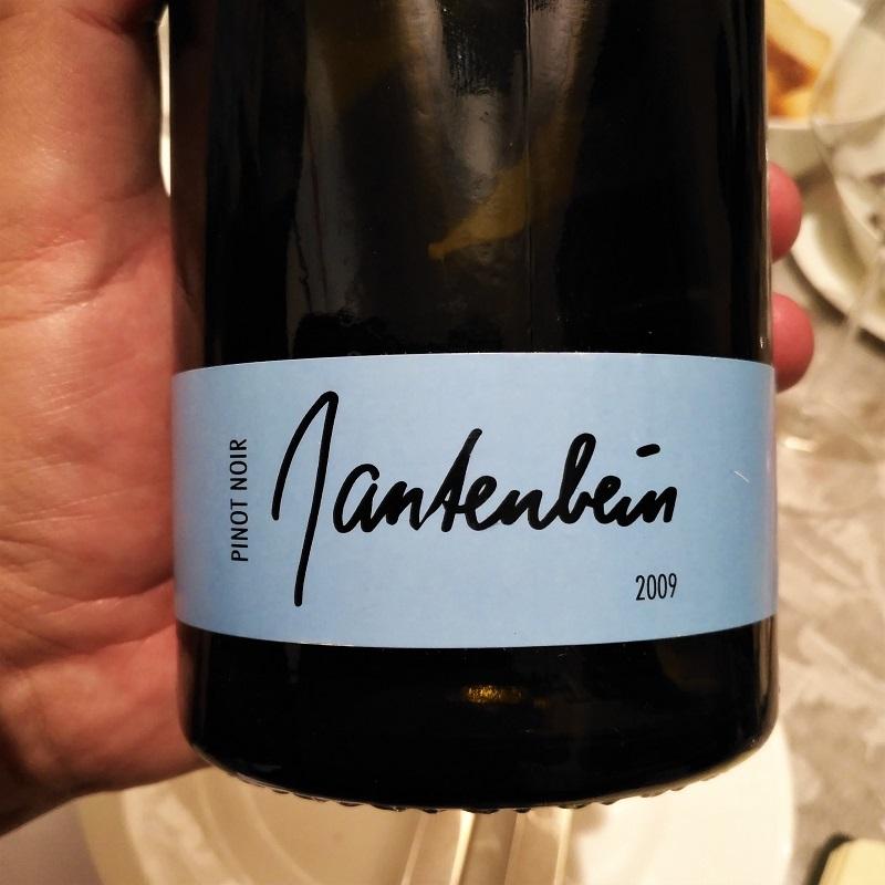 Judgment of Bonn Pinot Noir Gantenbein