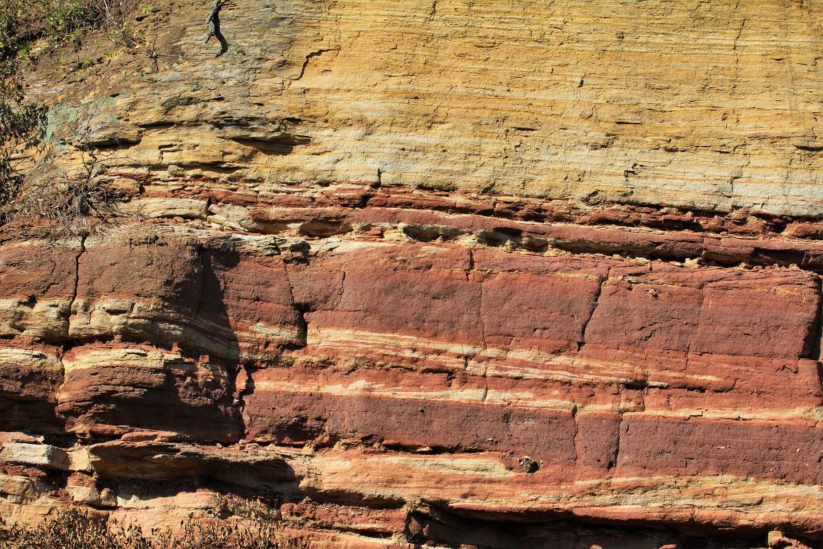 Nahe Geologie Sandstein Rotliegend