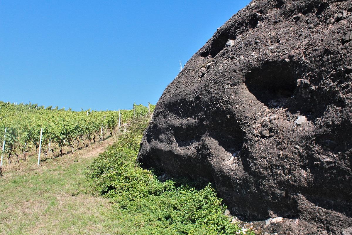 Nahe Geologie Konglomerat Dorsheimer Goldloch