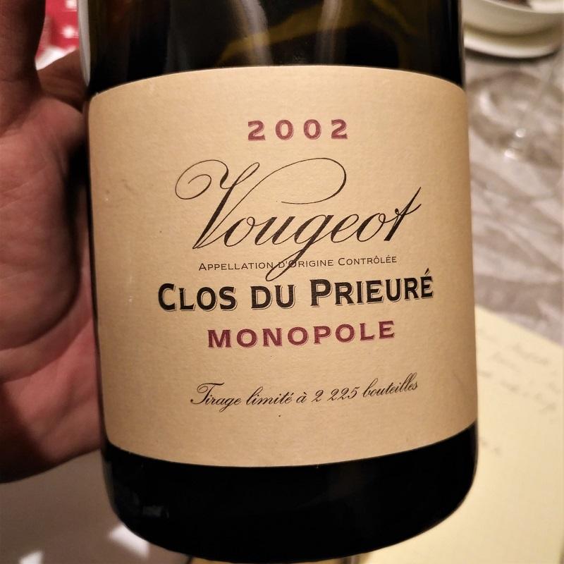 Judgment of Bonn Pinot Noir Vougeraie