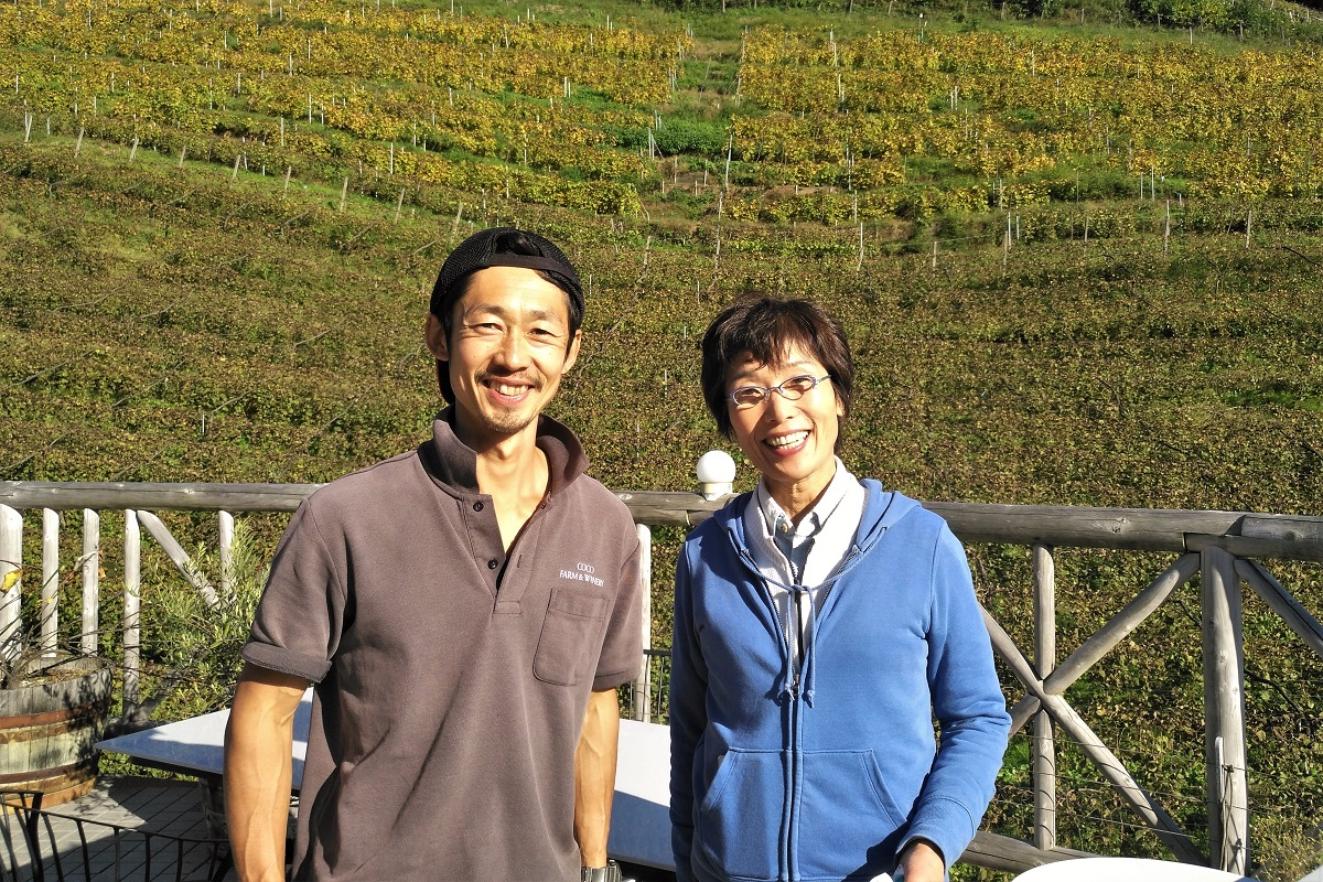 Coco Farm & Winery Japan Machiko Ochi & Kazuto Kuwabara