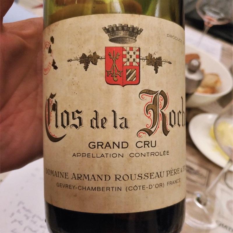 Jahresrückblick 2018 Rousseau Clos de la Roche