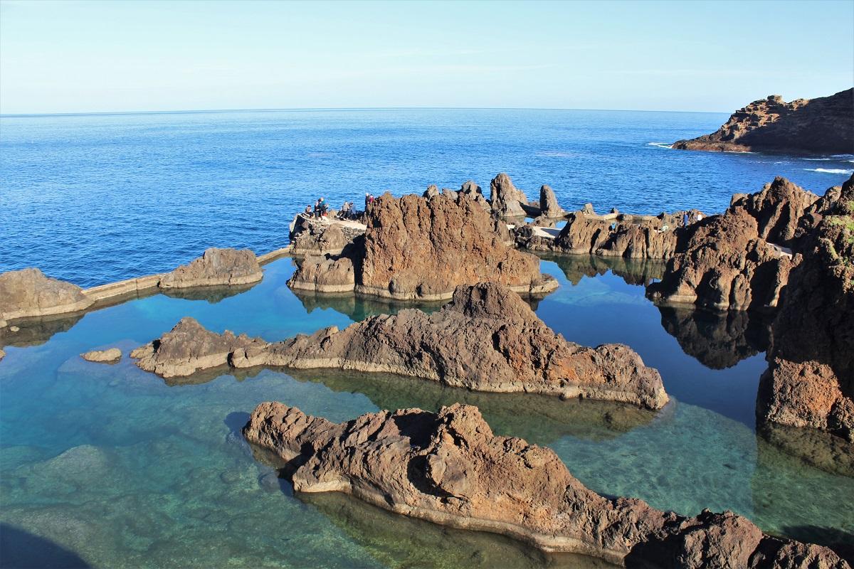 Madeira Porto Moniz Meeresschwimmbecken