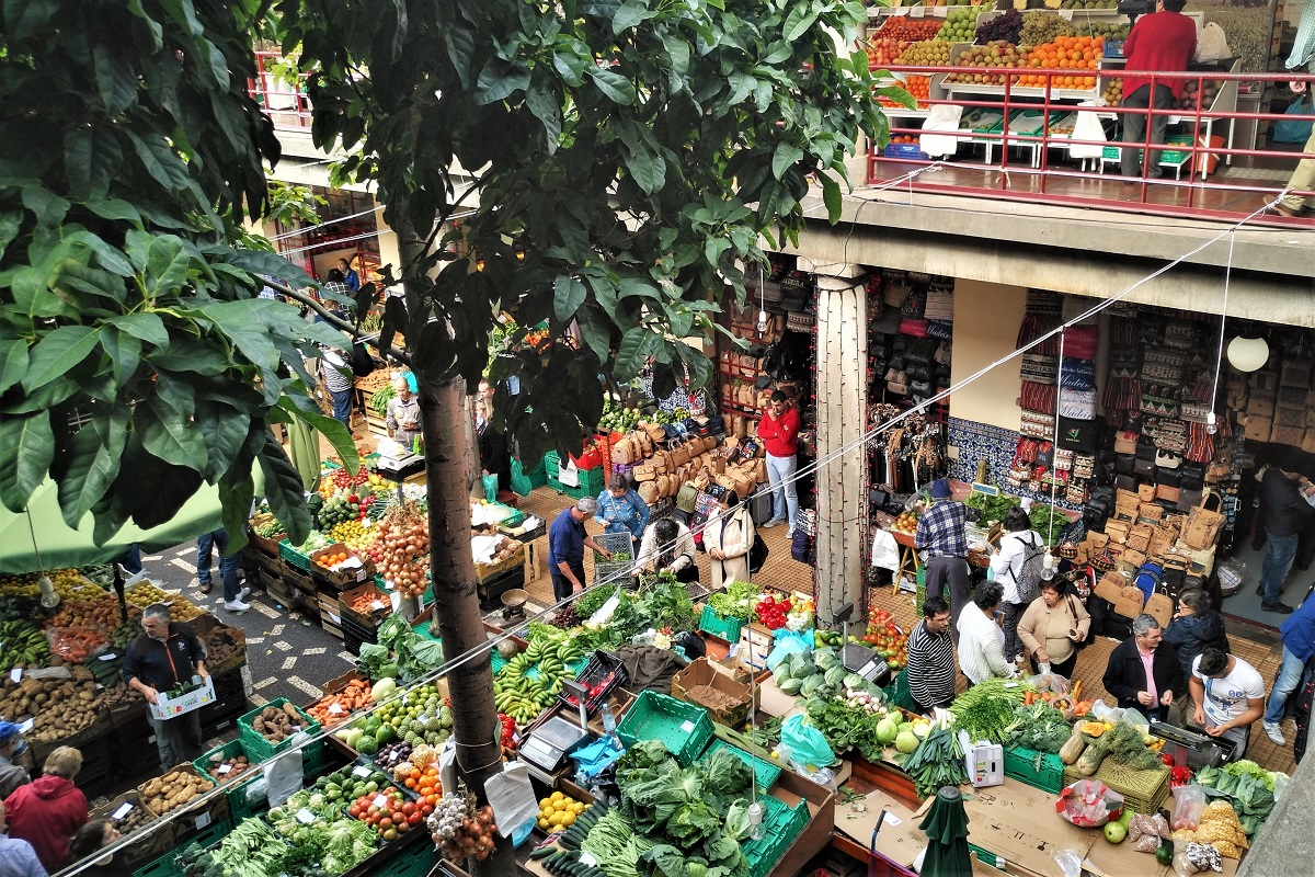 Madeira Funchal Markthalle