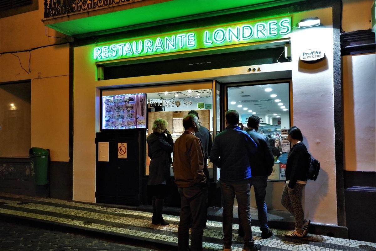 Madeira Essen Restaurante Londres