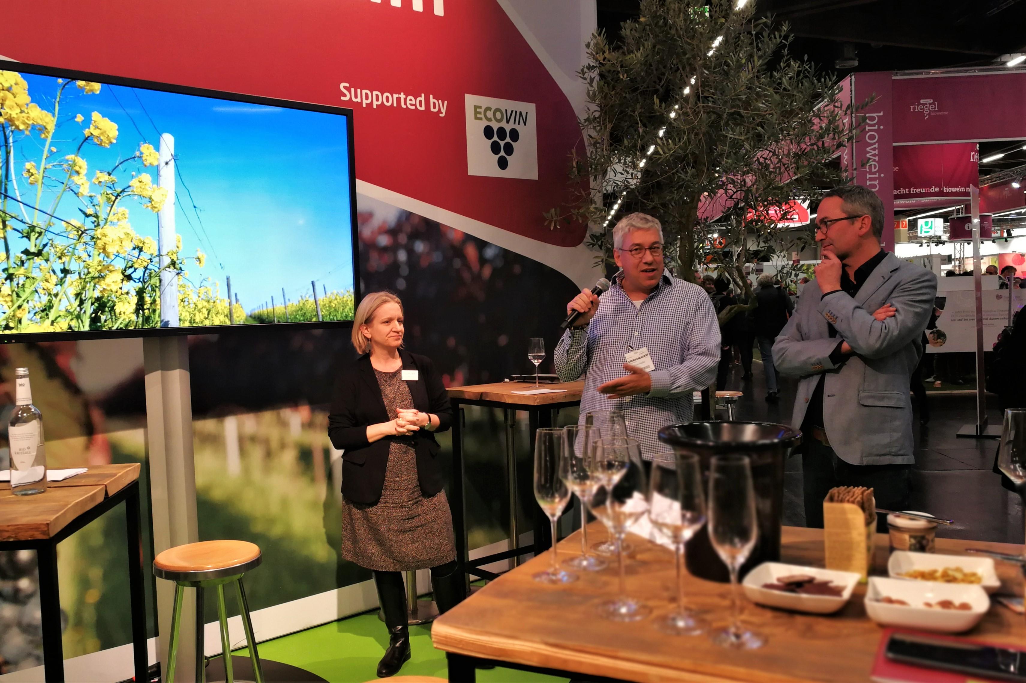 Biofach 2019 Ecovin Wein