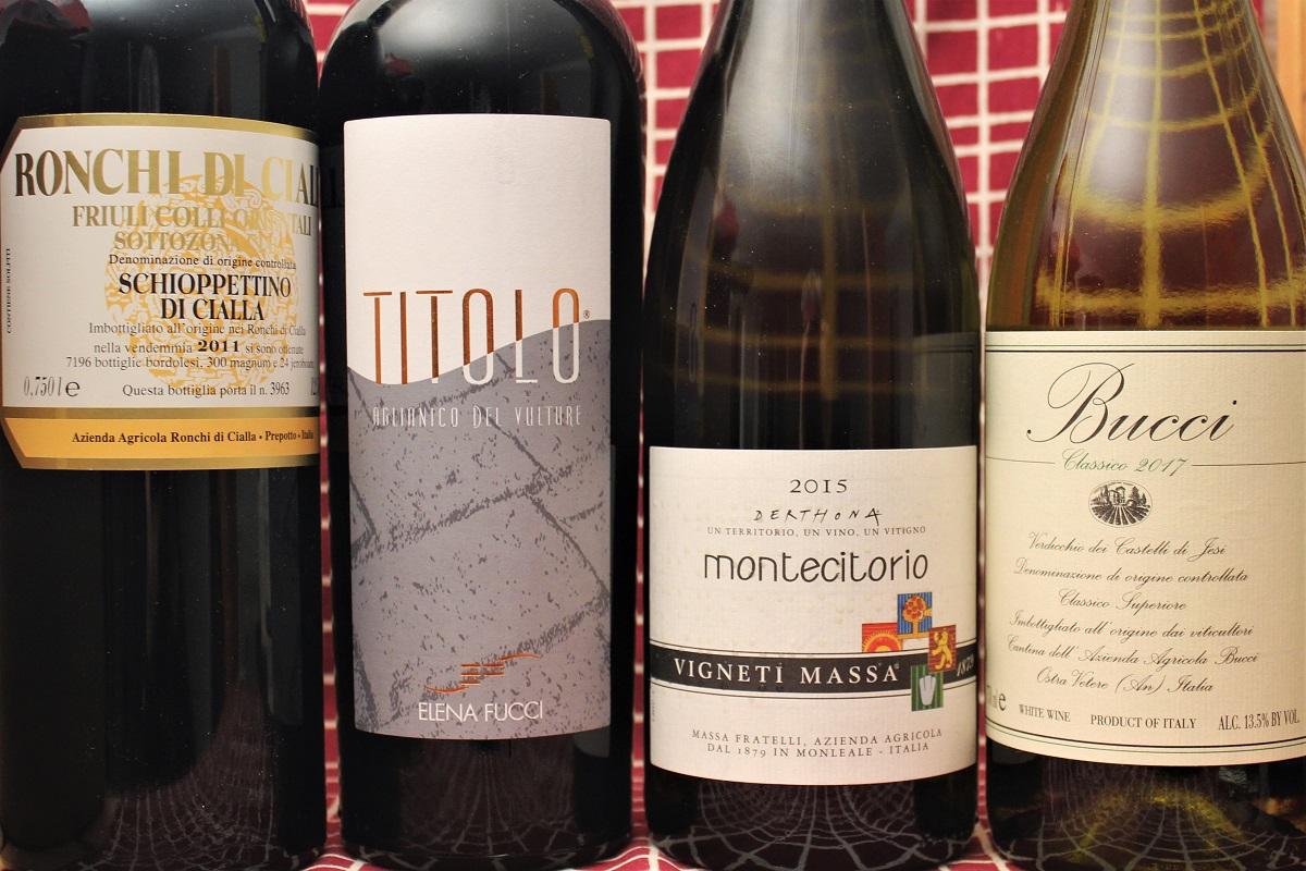 Italien Bari Wein