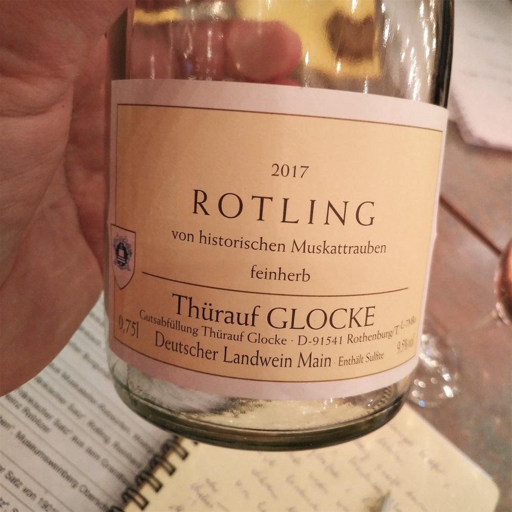 Historische Rebsorten Rotling Thürauf Glocke