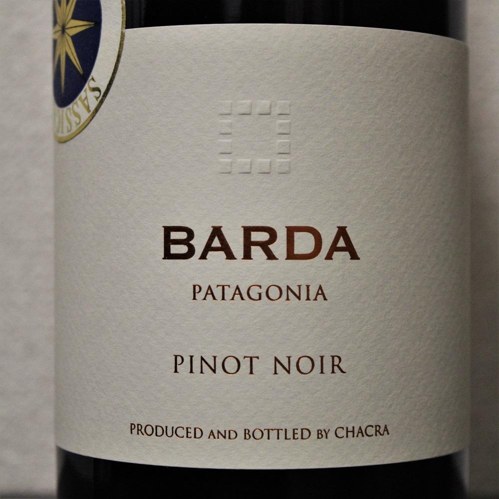 Weinkiste Chacra Barda Argentinien