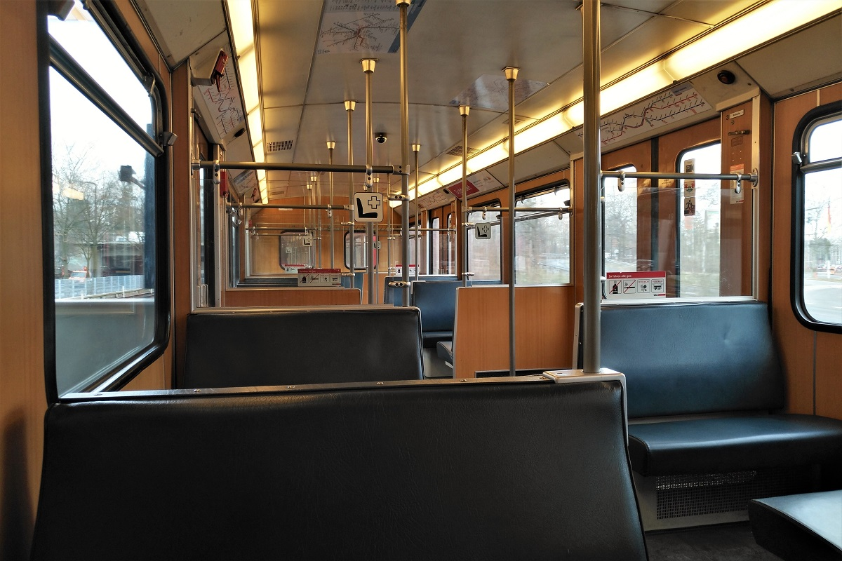 Biofach 2019 U-Bahn Nürnberg
