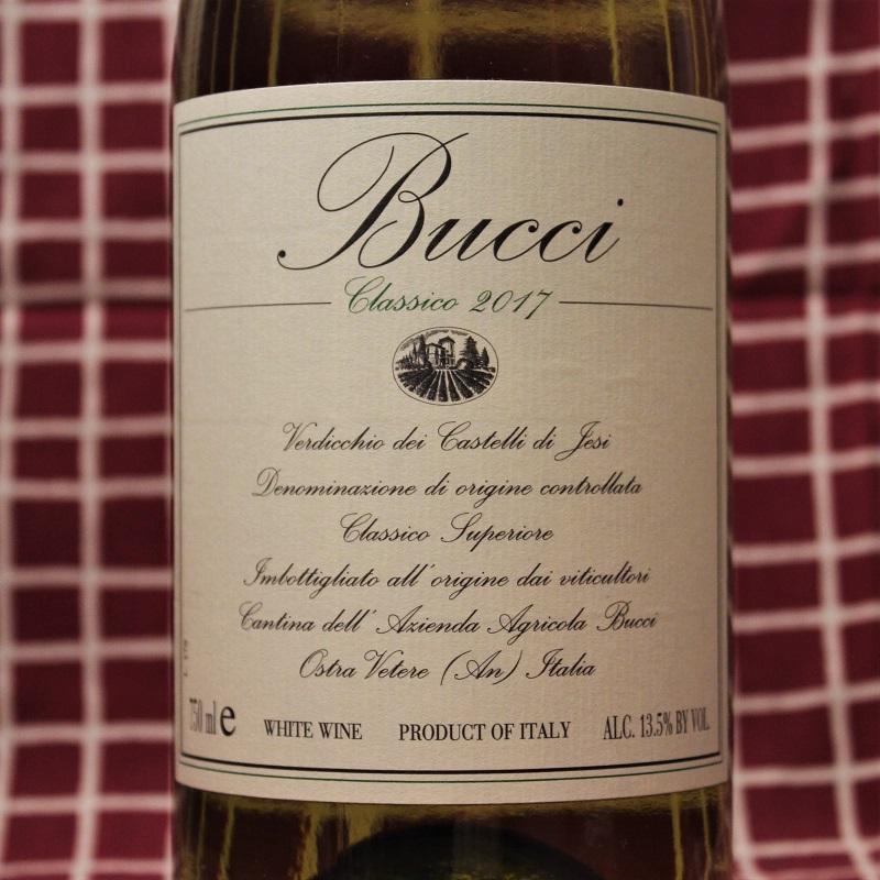 Italien Wein Bucci