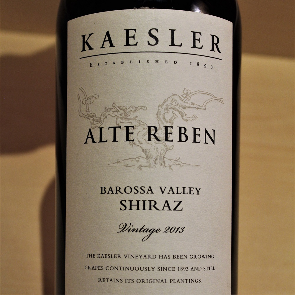 Weinkiste Barossa Kaesler Shiraz