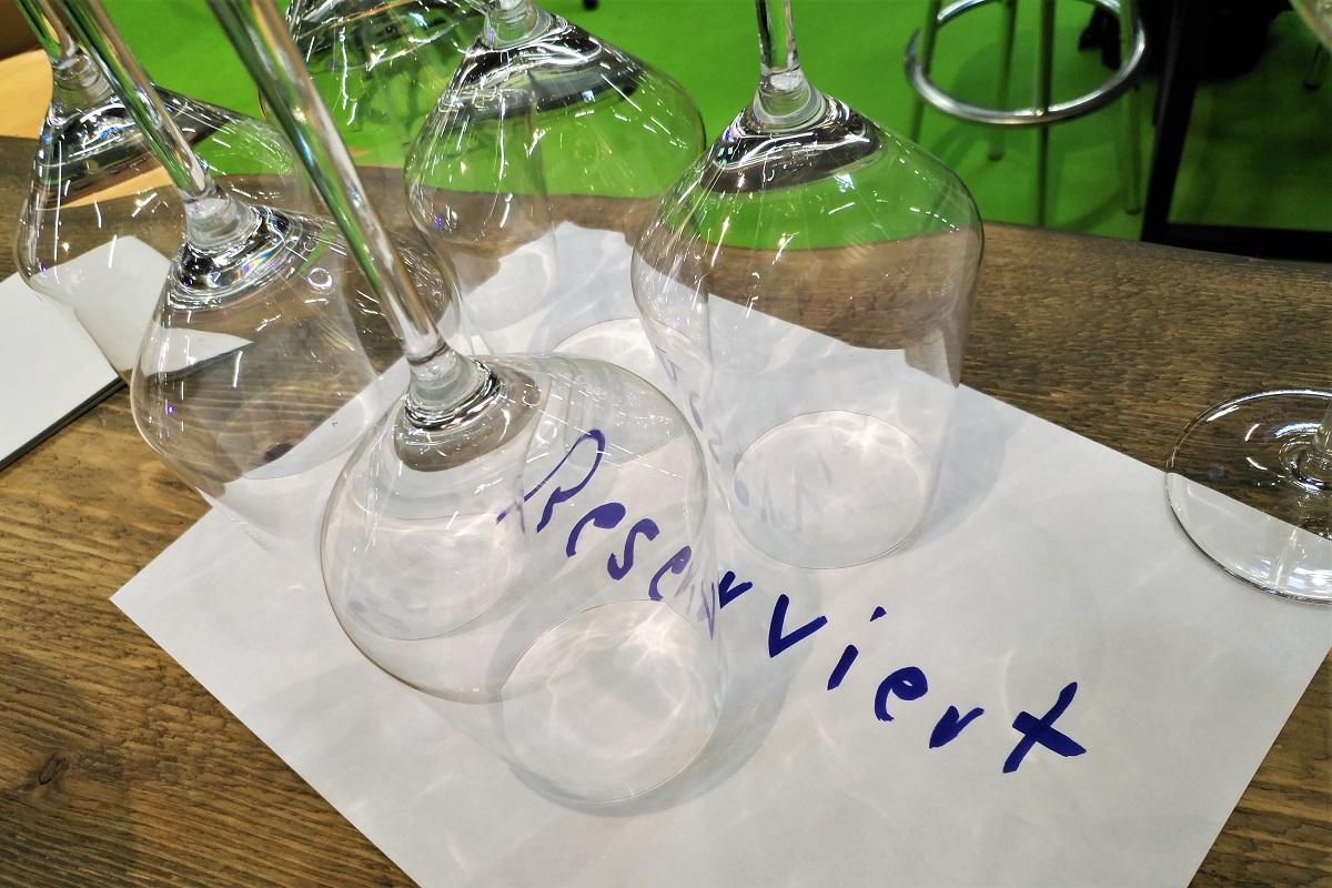 Biofach 2019 Weinverkostung