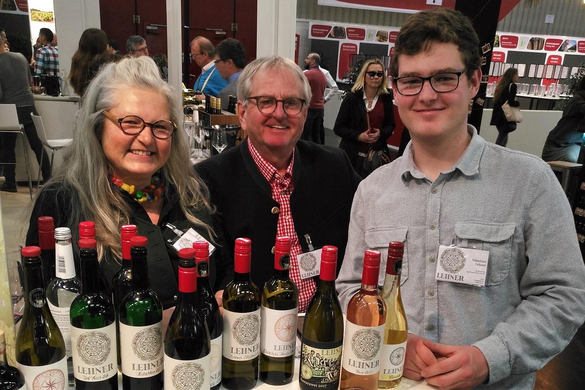 Biofach 2019 Weingut Lehner Burgenland