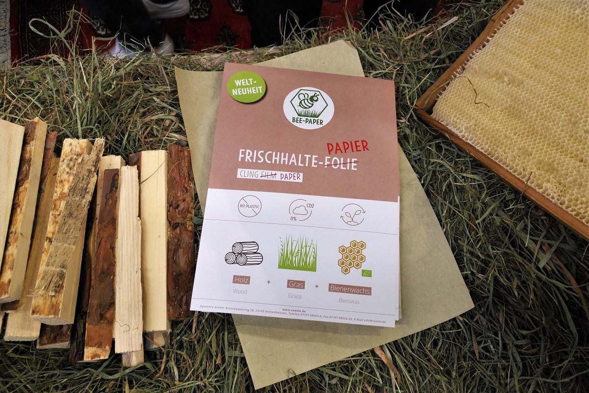 Biofach 2019 Tütle Frischhaltepapier