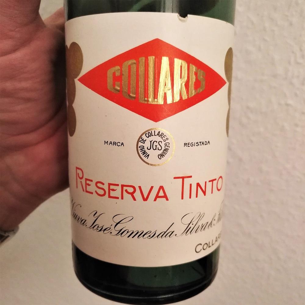 Geburtstag Wein Colares 1969