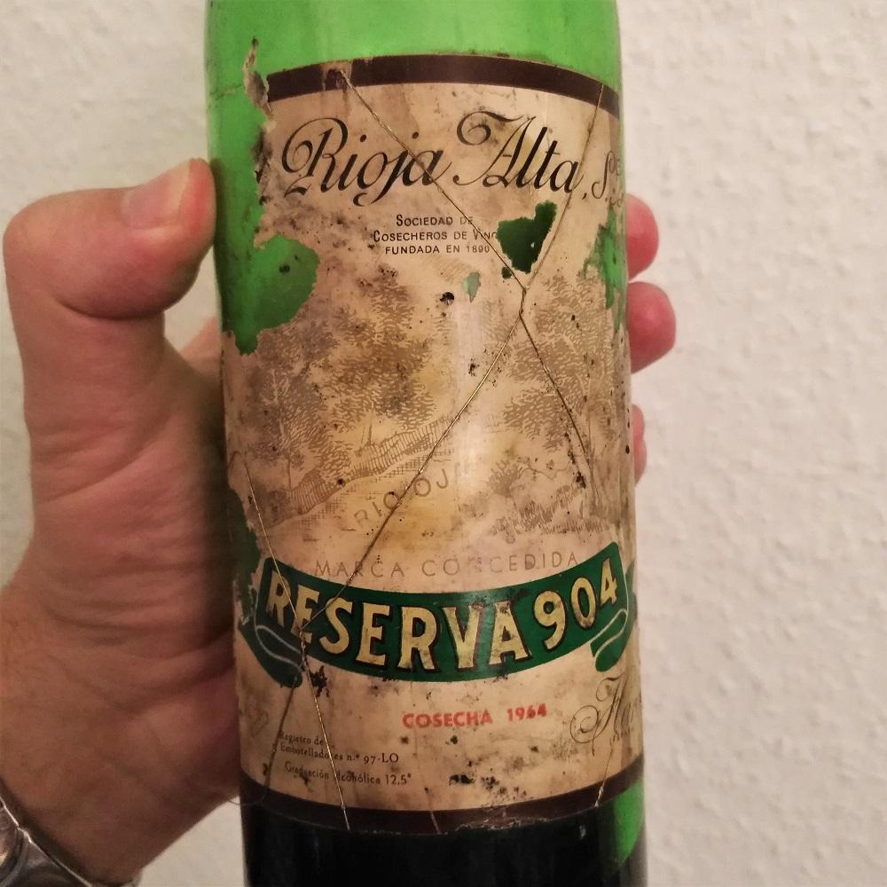 Geburtstag Wein Rioja 1964