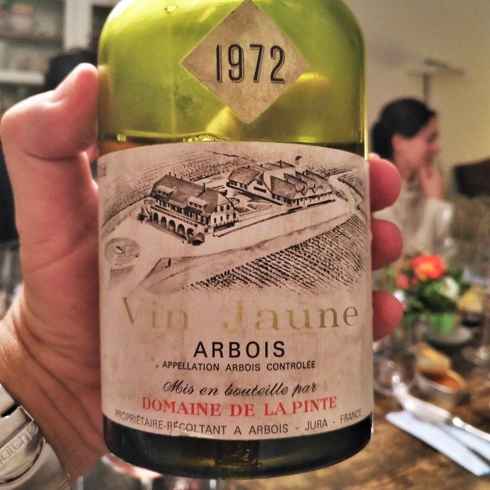Geburtstag Wein Vin Jaune 1972