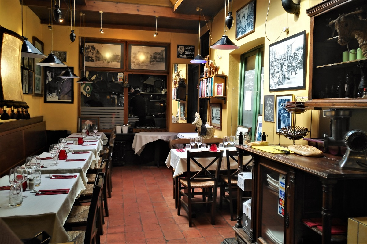 Brüssel Restaurant Ane Vert