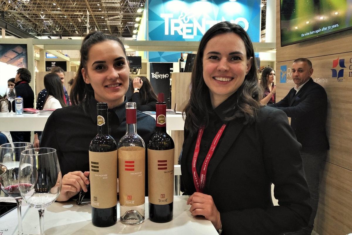 Weinmessen Prowein Temet Serbien