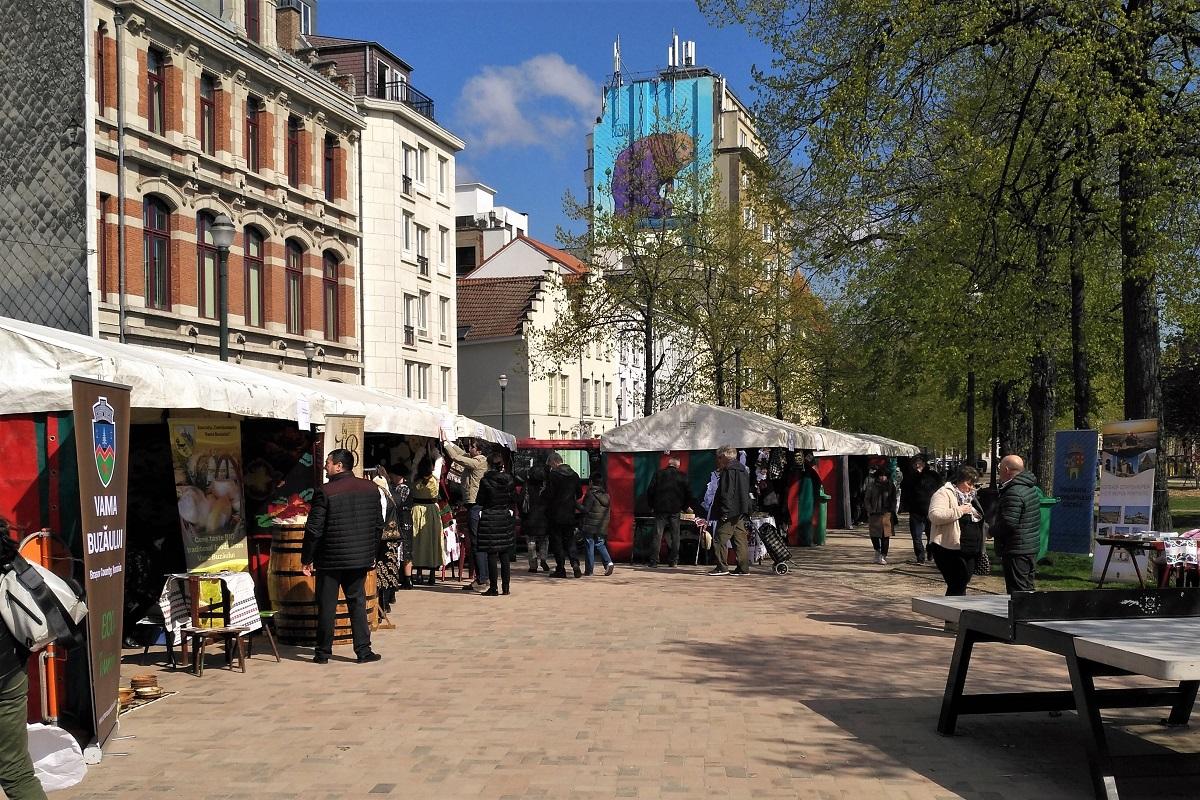 Brüssel Markt Rumänischer Frühling