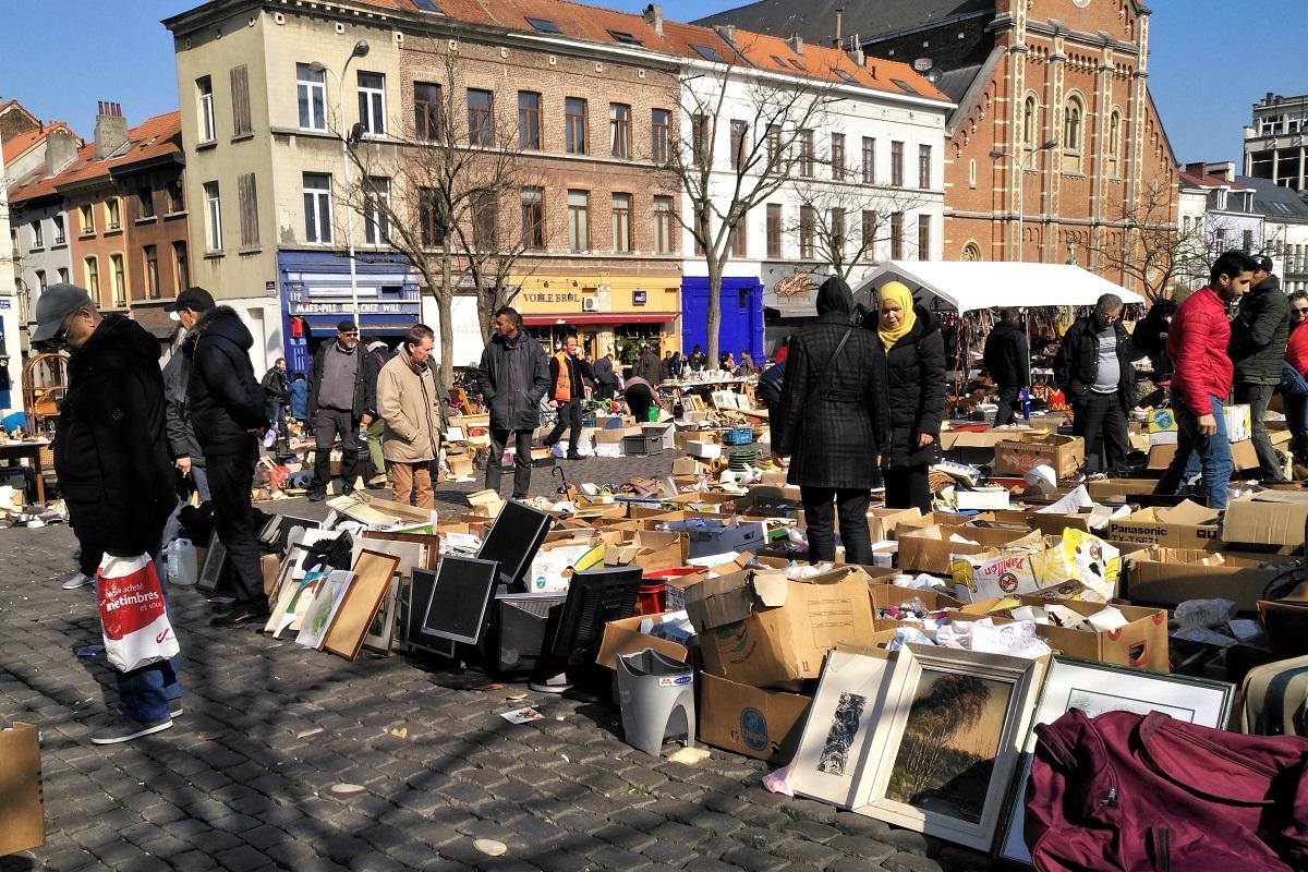 Brüssel Markt Jeu de Balle