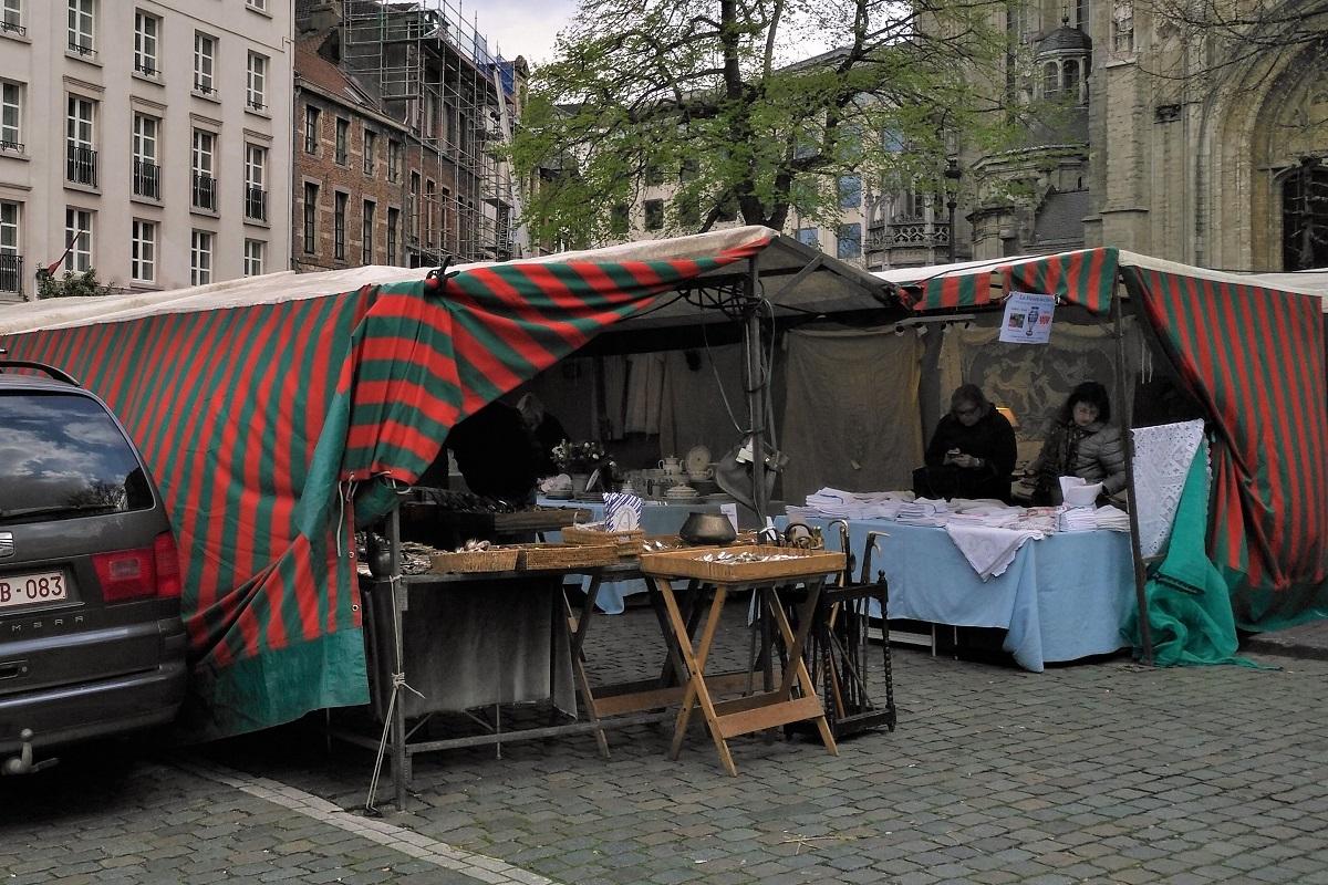 Brüssel Markt Sablon
